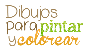 Dibujos para pintar y dibujos para colorear
