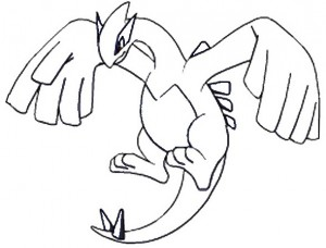 Lugia Pokemon Legendario