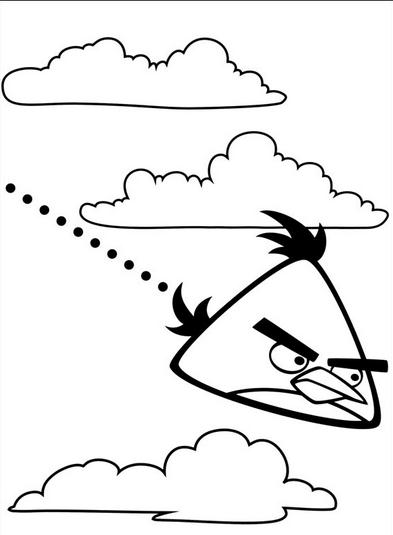 DIBUJOS de Angry Birds】 para COLOREAR a lapiz a color