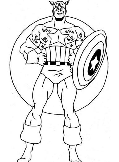 El primer vengador, el capitán américa
