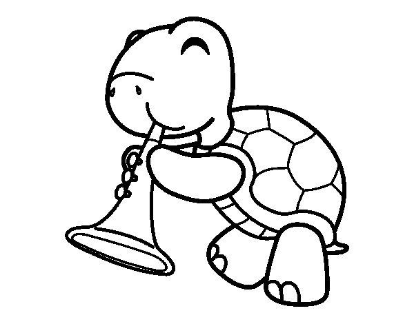 Dibujo Tortuga