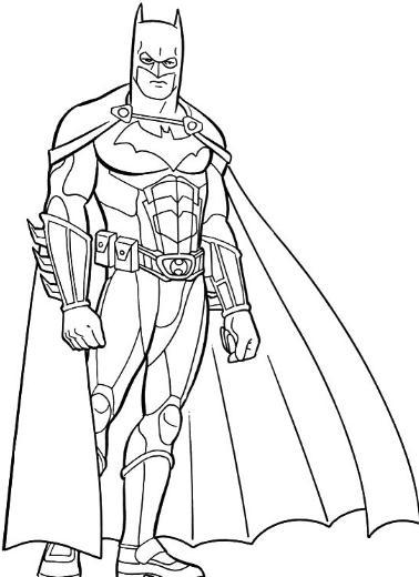 Colorear a Batman